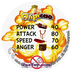 PaxToy.com - 49 ENCHANTE (Сторна-back) из Chipicao: Angry Birds 2017
