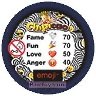 PaxToy.com - 49 Смайлик смотрит в бинокль (Сторна-back) из Chipicao: EMOJI