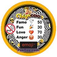 PaxToy.com - 50 Смайлик зивает (Сторна-back) из Chipicao: EMOJI
