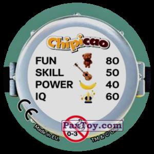 PaxToy.com - Фишка / POG / CAP / Tazo 51 BOO YA! (Сторна-back) из Chipicao: Minions