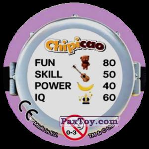 PaxToy.com - Фишка / POG / CAP / Tazo 52 PEACE (Сторна-back) из Chipicao: Minions