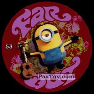 PaxToy.com  Фишка / POG / CAP / Tazo 53 FAR OUT из Chipicao: Minions
