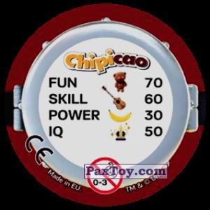 PaxToy.com - Фишка / POG / CAP / Tazo 53 FAR OUT (Сторна-back) из Chipicao: Minions