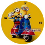 PaxToy 55 MINIONS ON THE SCOOTER