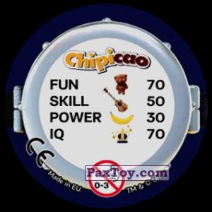 PaxToy.com - Фишка / POG / CAP / Tazo 58 EXCALIBUR (Сторна-back) из Chipicao: Minions