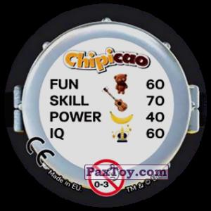 PaxToy.com - Фишка / POG / CAP / Tazo 59 KinG (Сторна-back) из Chipicao: Minions