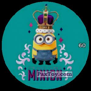 PaxToy.com  Фишка / POG / CAP / Tazo 60 MINION из Chipicao: Minions