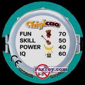 PaxToy.com - Фишка / POG / CAP / Tazo 60 MINION (Сторна-back) из Chipicao: Minions