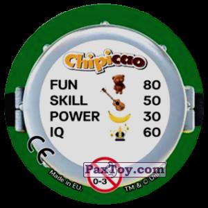PaxToy.com - Фишка / POG / CAP / Tazo 61 HELLO LONDON (Сторна-back) из Chipicao: Minions