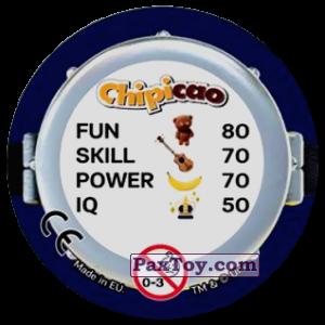 PaxToy.com - Фишка / POG / CAP / Tazo 63 KEEP CALM AND POTAKINO LO PATATA (Сторна-back) из Chipicao: Minions