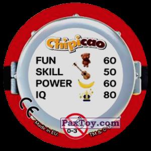 PaxToy.com - Фишка / POG / CAP / Tazo 64 KEEP CALM AND EAT A BANANA (Сторна-back) из Chipicao: Minions