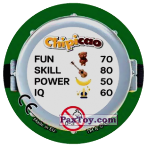 PaxToy.com - Фишка / POG / CAP / Tazo 65 KEEP STUART VERY CALM (Сторна-back) из Chipicao: Minions