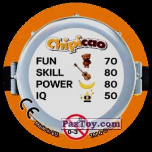 PaxToy.com - Фишка / POG / CAP / Tazo 66 EVIL SO EVIL HERO (Сторна-back) из Chipicao: Minions