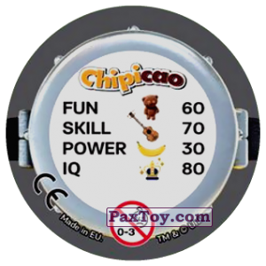 PaxToy.com - Фишка / POG / CAP / Tazo 67 PROFESSOR FLUX (Сторна-back) из Chipicao: Minions