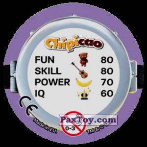 PaxToy.com - Фишка / POG / CAP / Tazo 68 EVIL SO EVIL HERO (Сторна-back) из Chipicao: Minions