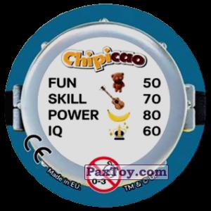 PaxToy.com - Фишка / POG / CAP / Tazo 69 BAG THE PIPES! (Сторна-back) из Chipicao: Minions