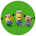 PaxToy 71 HAPPY MINIONS (METAL)