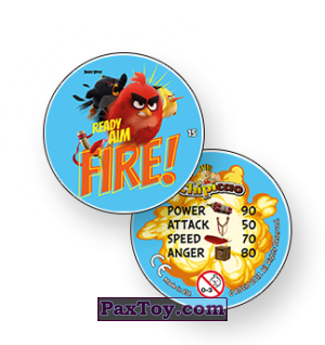 PaxToy Angry bird play cap down right