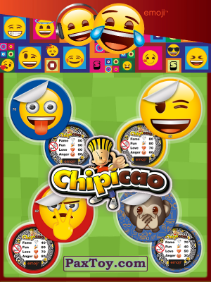 PaxToy Chipicao: EMOJI