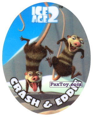 PaxToy.com - 02 CRASH & EDDIE из Cheetos: Ice Age 2