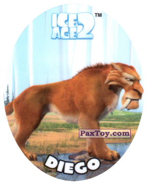 PaxToy.com - 05 DIEGO из Cheetos: Ice Age 2