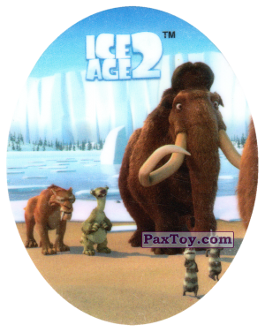PaxToy.com - 08 DIEGO & SID & MANNY & CRASH & EDDIE из Cheetos: Ice Age 2