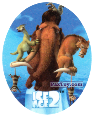 PaxToy.com - 09 ICE AGE 2 FRIENDS из Cheetos: Ice Age 2