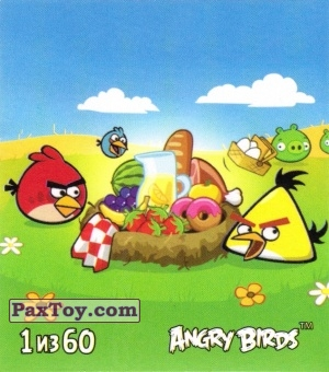 PaxToy.com - 1 из 60 Angry Birds Party из Cheetos: Stickers Angry Birds 2
