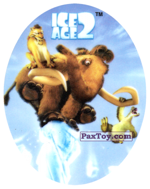 PaxToy.com - 10 DIEGO & MANNY & SID из Cheetos: Ice Age 2