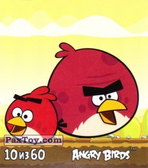PaxToy.com - 10 из 60 Red and Terence из Cheetos: Stickers Angry Birds 2