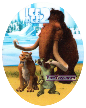 PaxToy.com - 11 DIEGO & MANNY & SID из Cheetos: Ice Age 2