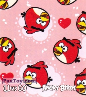 PaxToy.com - 11 из 60 More Red из Cheetos: Stickers Angry Birds 2