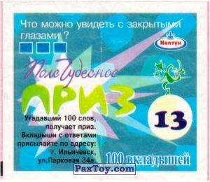 PaxToy.com - 13 Что можно увидеть с закрытыми глазами? из Нептун: Поле Чудесное
