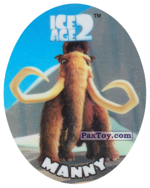 PaxToy.com - 13 MANNY из Cheetos: Ice Age 2