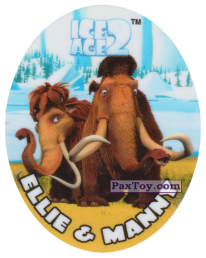 PaxToy.com - 14 ELLIE & MANNY из Cheetos: Ice Age 2