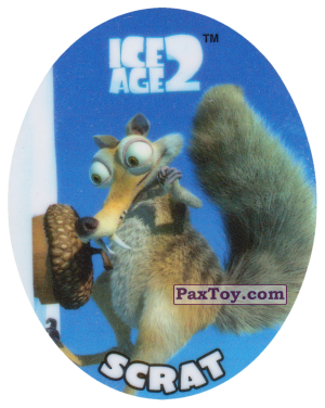 PaxToy.com - 15 SCRAT из Cheetos: Ice Age 2