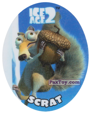 PaxToy.com - 17 SCRAT из Cheetos: Ice Age 2