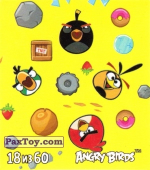 PaxToy.com - 18 из 65 Angry Birds из Cheetos: Stickers Angry Birds 2