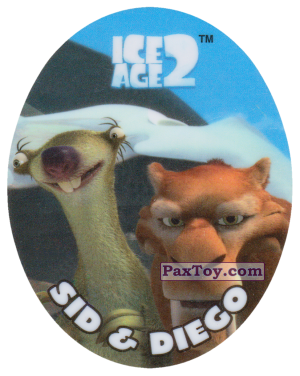 PaxToy.com - 20 SID & DIEGO из Cheetos: Ice Age 2