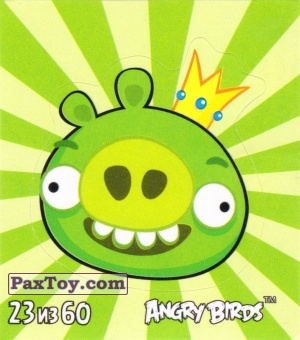 PaxToy.com - 23 из 60 King Pig из Cheetos: Stickers Angry Birds 2