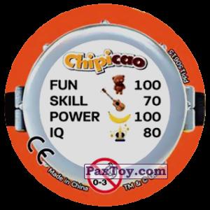 PaxToy.com - Фишка / POG / CAP / Tazo 72 HAPPY MINIONS (METAL) (Сторна-back) из Chipicao: Minions