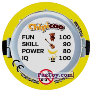 PaxToy.com - Фишка / POG / CAP / Tazo 75 MINIONS IN THE SEWERS (METAL) (Сторна-back) из Chipicao: Minions