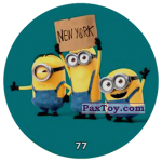 PaxToy 77 FUNNY MINIONS (METAL)