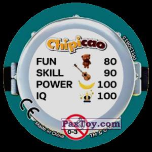 PaxToy.com - Фишка / POG / CAP / Tazo 77 FUNNY MINIONS (METAL) (Сторна-back) из Chipicao: Minions