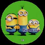 PaxToy 78  THREE MINIONS (METAL)