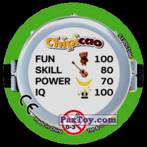 PaxToy.com - Фишка / POG / CAP / Tazo 78 THREE MINIONS (METAL) (Сторна-back) из Chipicao: Minions