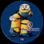 PaxToy 79  THREE MINIONS (METAL)