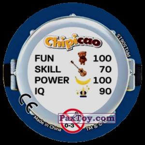 PaxToy.com - Фишка / POG / CAP / Tazo 79 THREE MINIONS (METAL) (Сторна-back) из Chipicao: Minions