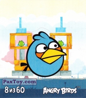 PaxToy.com - 8 из 60 The Blue из Cheetos: Stickers Angry Birds 2