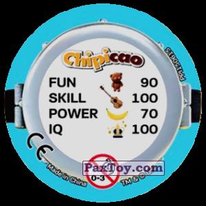 PaxToy.com - Фишка / POG / CAP / Tazo 80 FUNNY MINIONS (METAL) (Сторна-back) из Chipicao: Minions